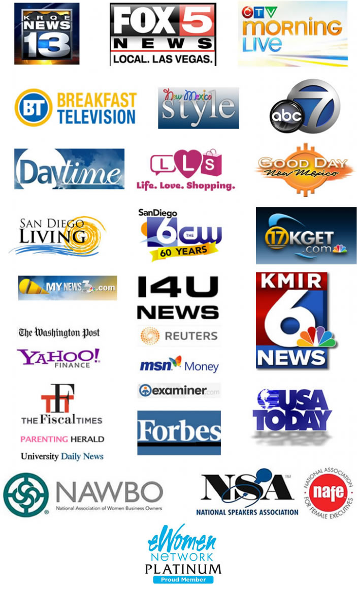 Tracy Repchuk Appear's on  Leading TV Channels & Other Print Media